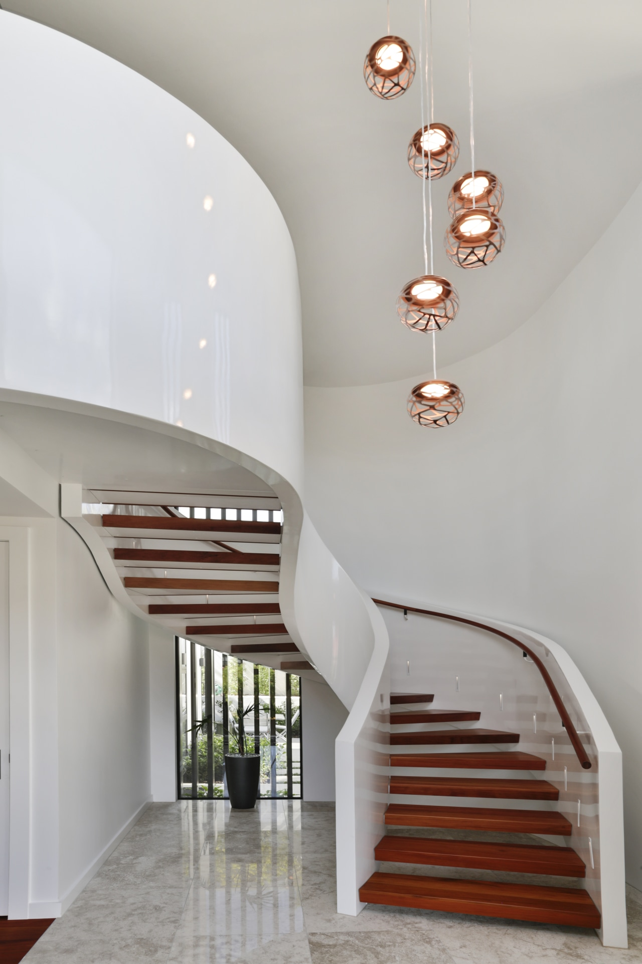 Inspired by a similar staircase on the cover gray