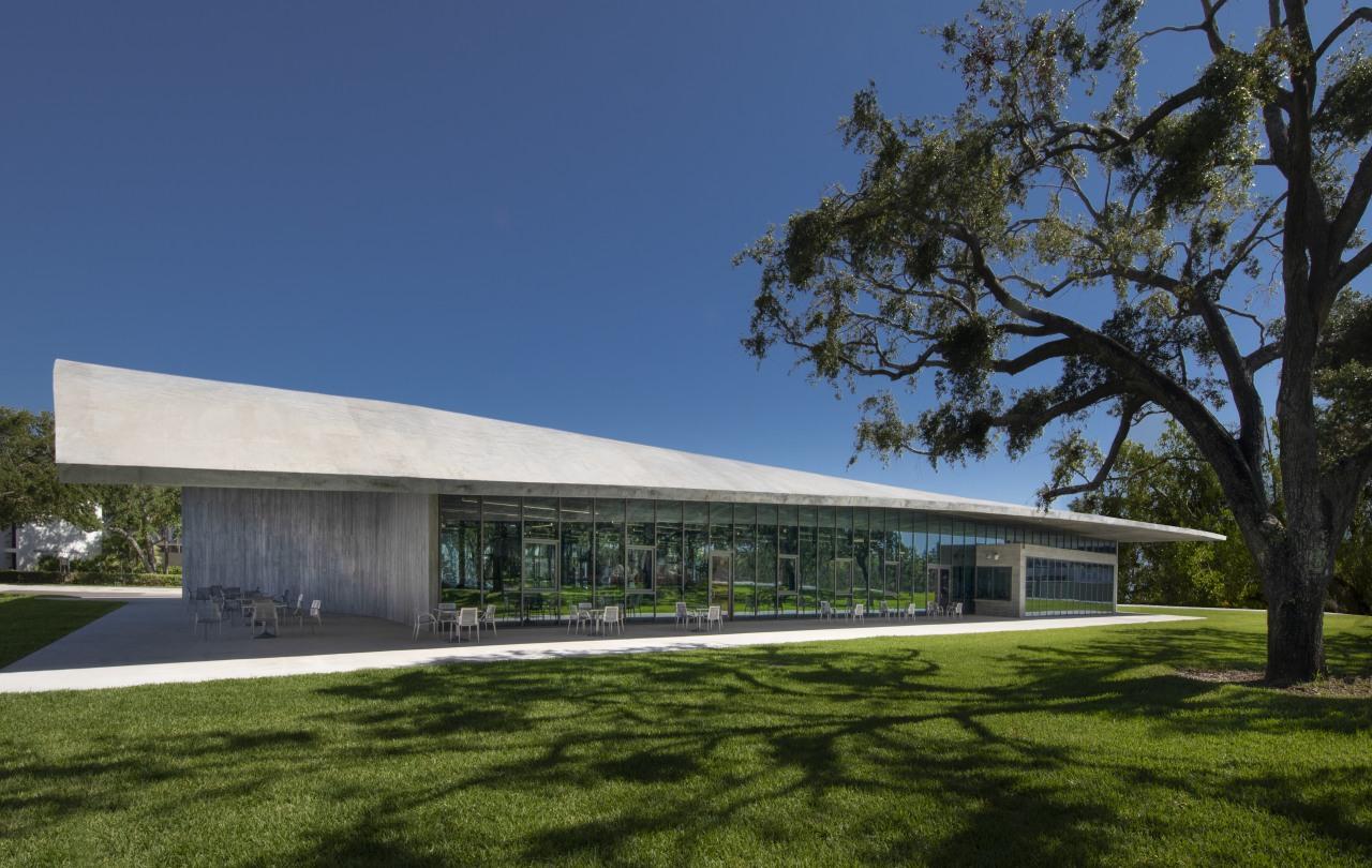 The Thomas P Murphy Design Studio Building is architecture, building, community centre, facade, headquarters, pavilion, University of Miami School of Architecture