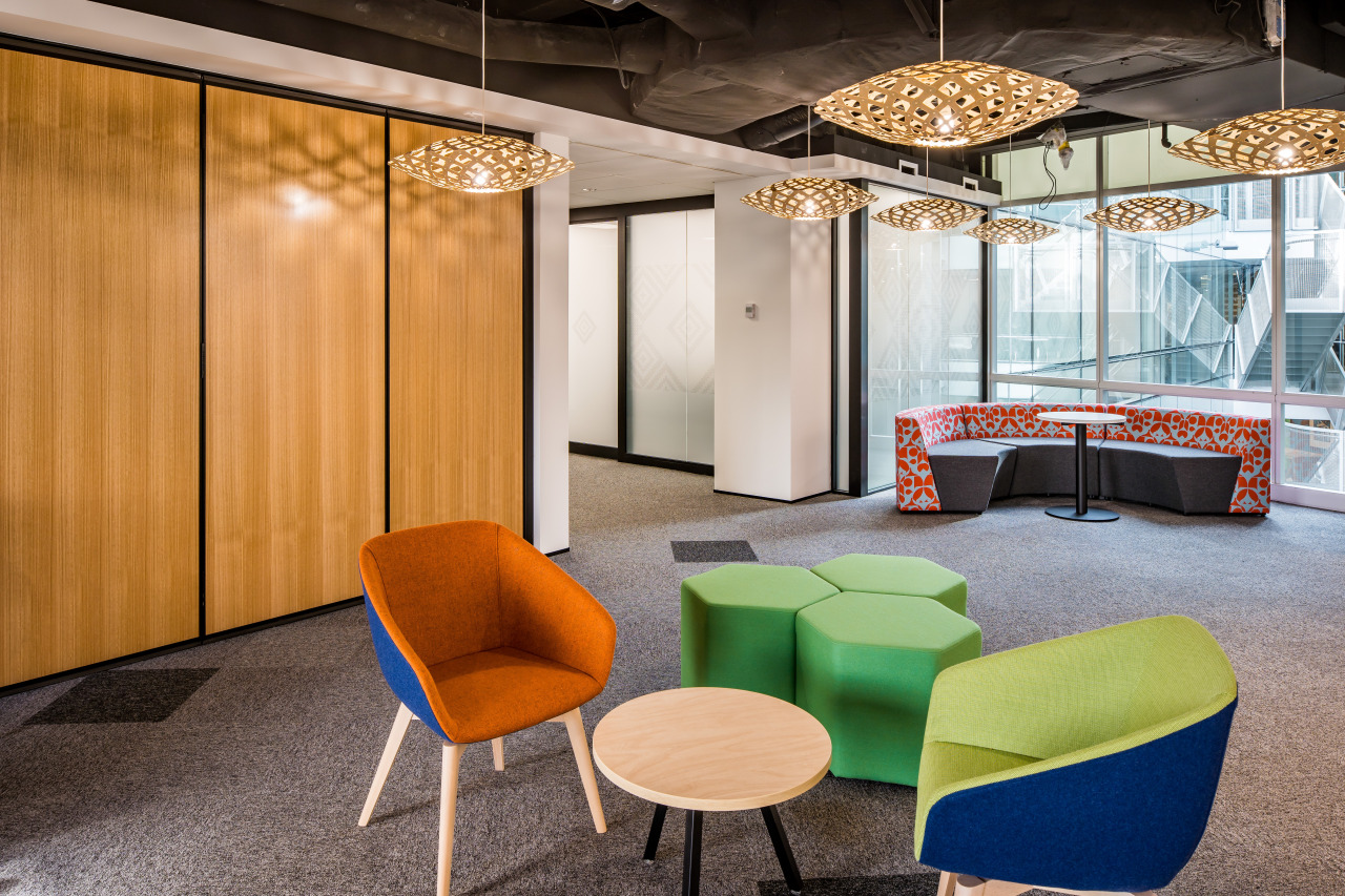 For the Treasury fit-out by Workspace Architects, informal, architecture, design, furniture, interior design, lighting, lobby, office, Treasury fitout, Workspace Architects