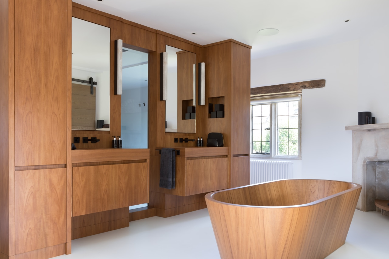 This master suite within a stunning Grade II