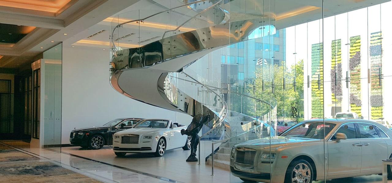 Rolls Royce Houston 4 - automotive design | automotive design, car, land vehicle, luxury vehicle, rolls-royce, rolls-royce ghost, rolls-royce phantom, rolls-royce phantom coupé, rolls-royce phantom drophead coupé, sedan, vehicle, gray