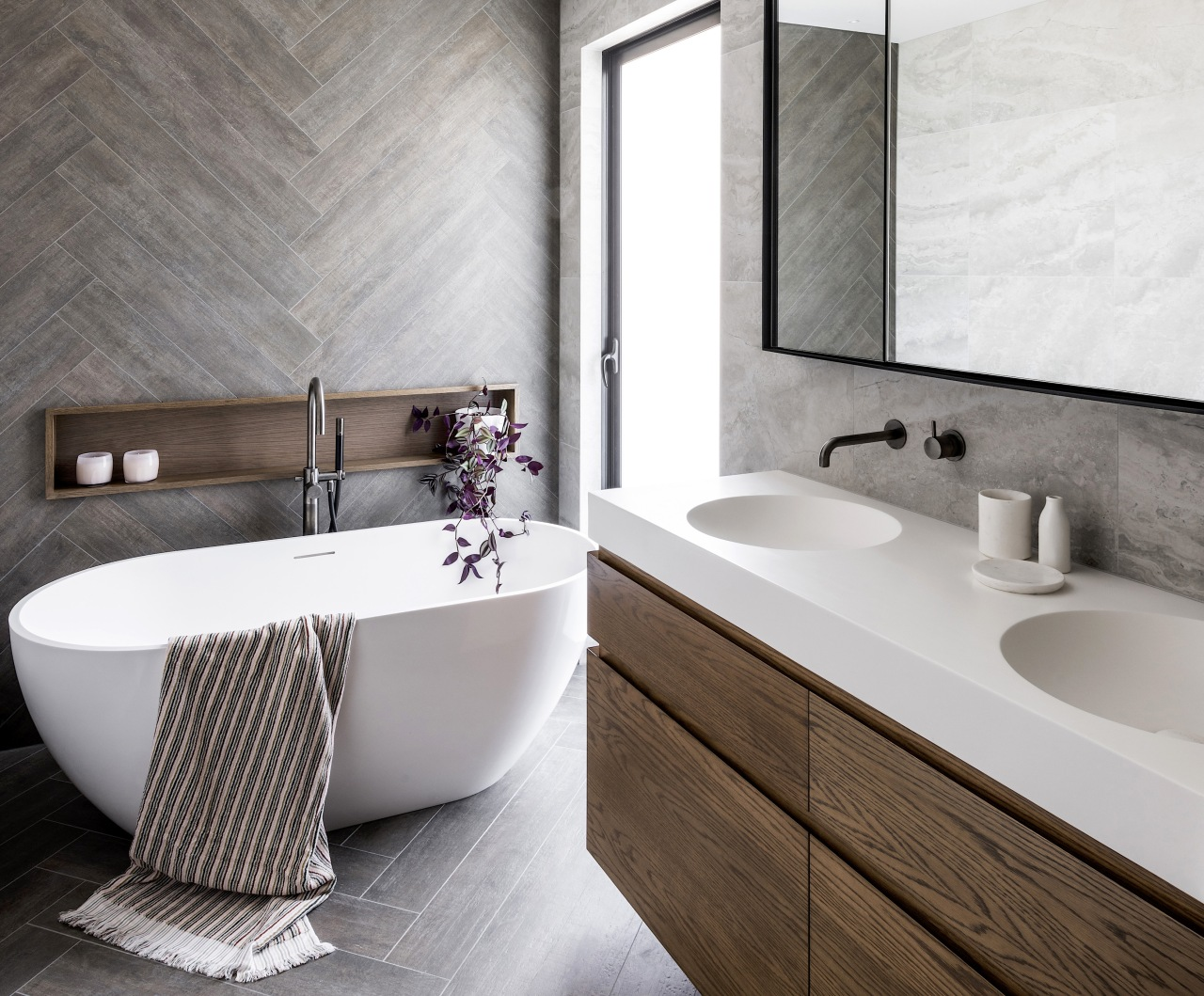 In this bathroom by Detail by Davinia Sutton,