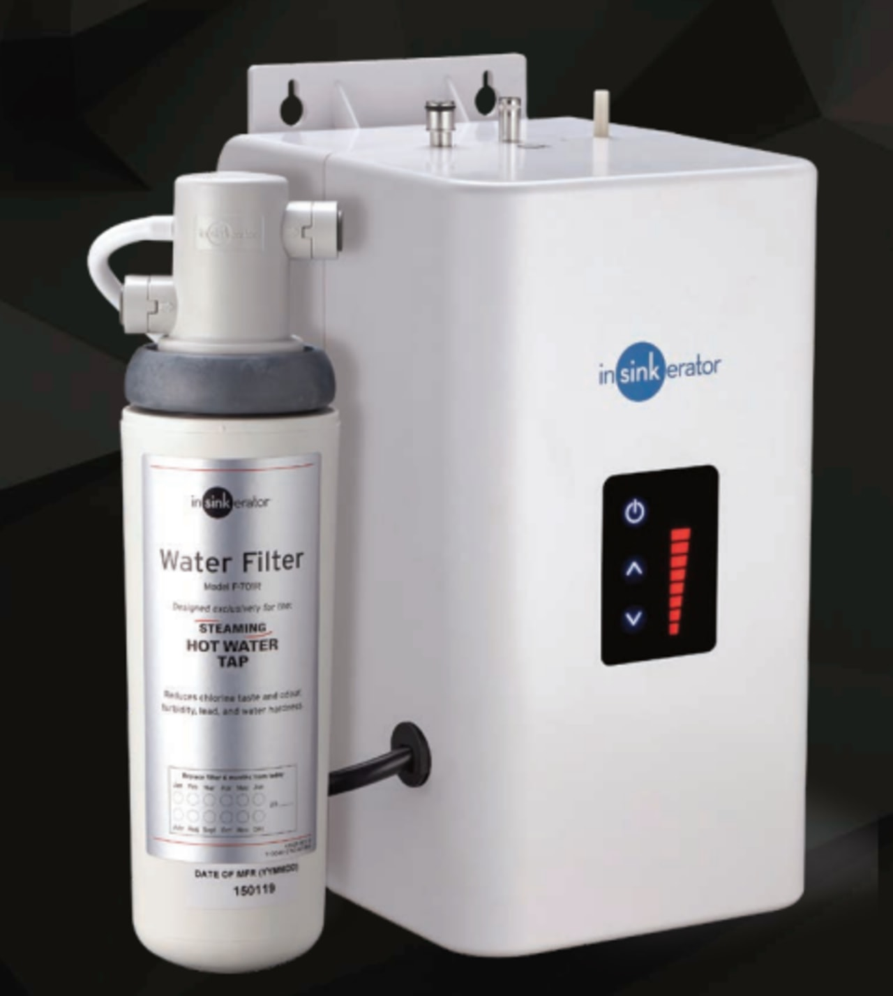 NeoTank is energy-efficient and easy to install product, white, black