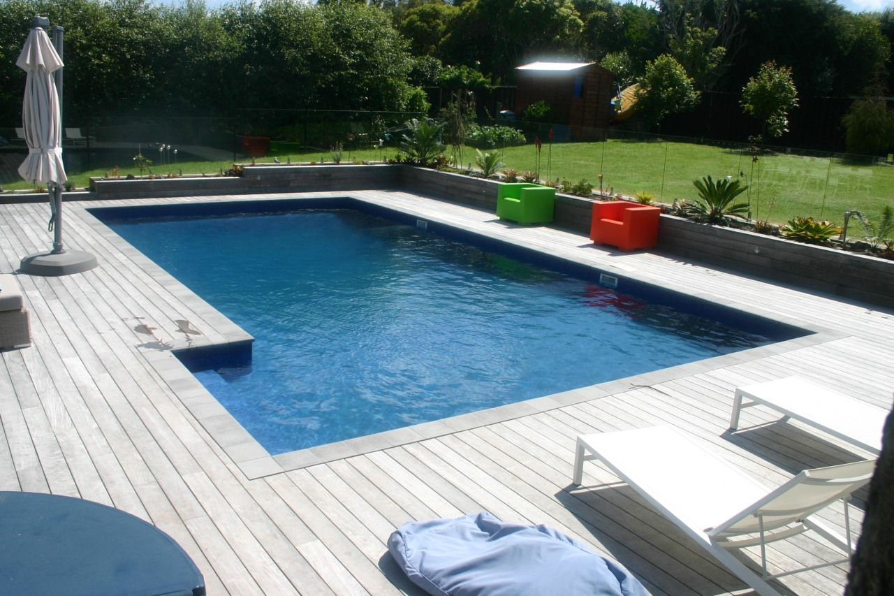 This pool looks warm and inviting because it