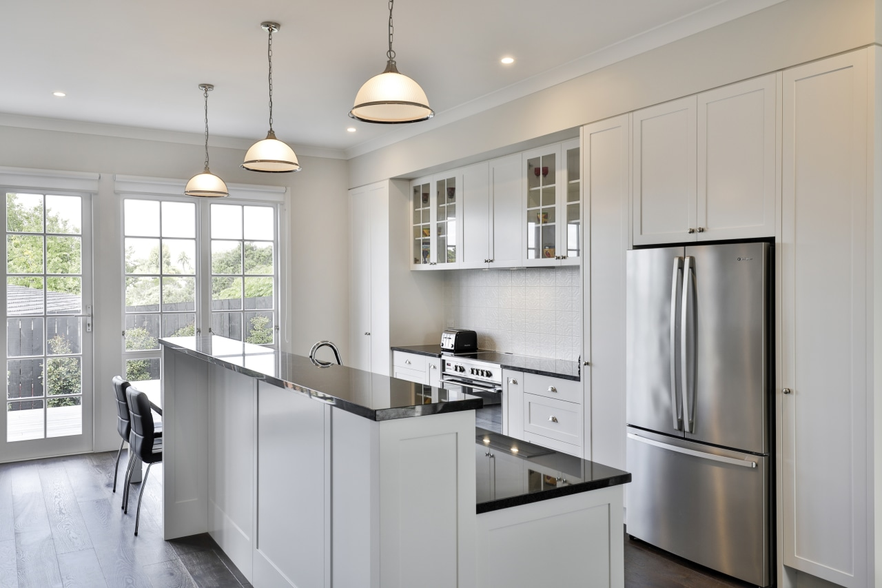 This custom kitchen was precision crafted to the