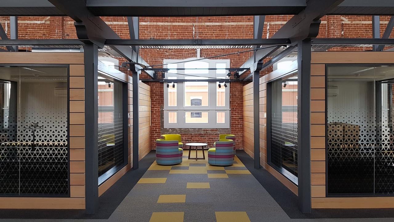 GCA Dunedin - McAuliffe Stevens Limited interior design, black, gray