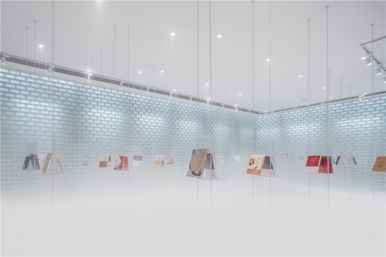 A new take on the bookstore architecture, ceiling, design, glass, interior design, light, lighting, line, product design, gray