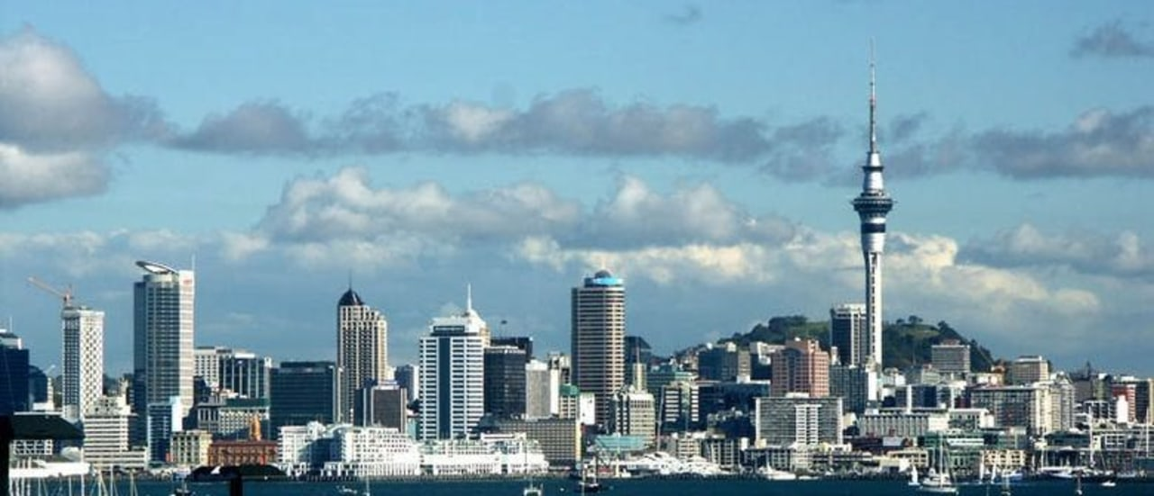 The Auckland skyline building, city, cityscape, cloud, daytime, downtown, metropolis, metropolitan area, sky, skyline, skyscraper, tower, tower block, urban area, teal
