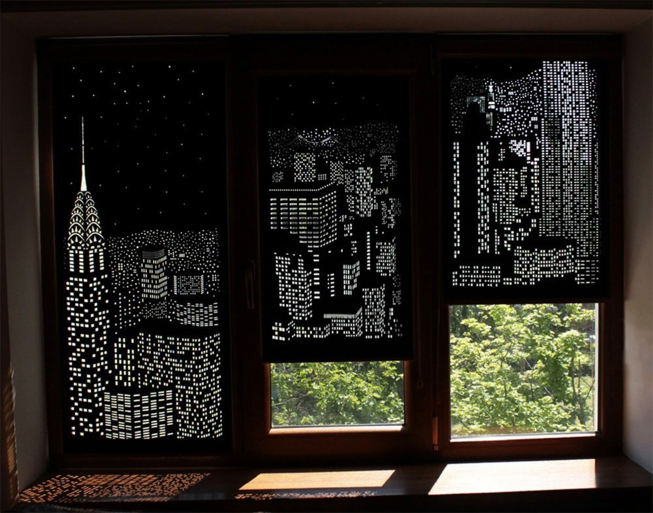 Designed by HoleRoll window, black