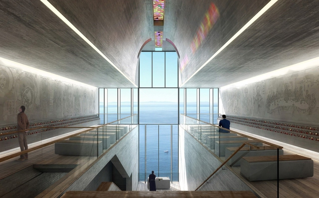 Lux Aeterna / Holy Cross Chapel: Images architecture, ceiling, daylighting, structure, tourist attraction, gray, black