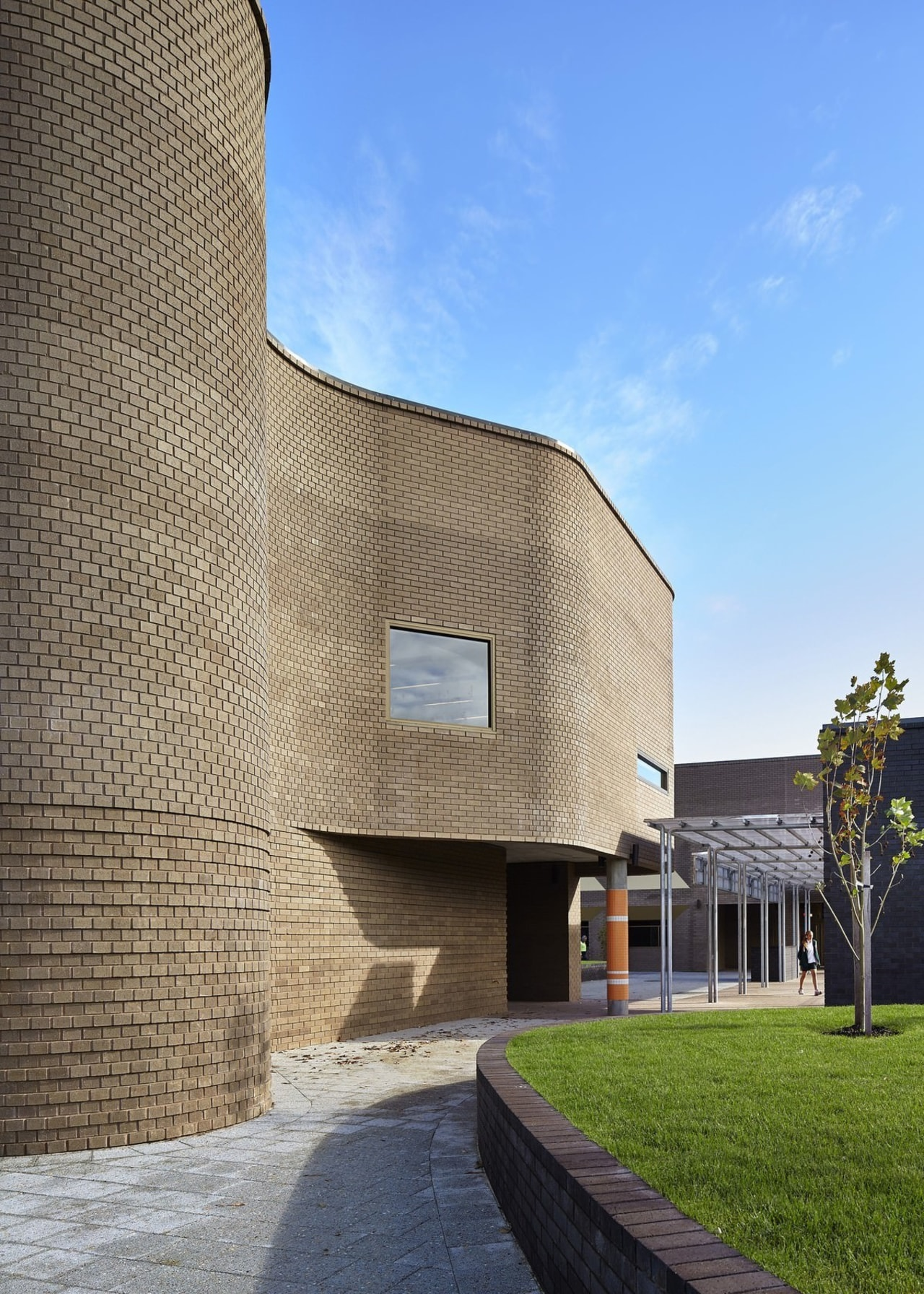 Bunbury Catholic College – Mercy Campus architecture, building, facade, house, real estate, sky, teal