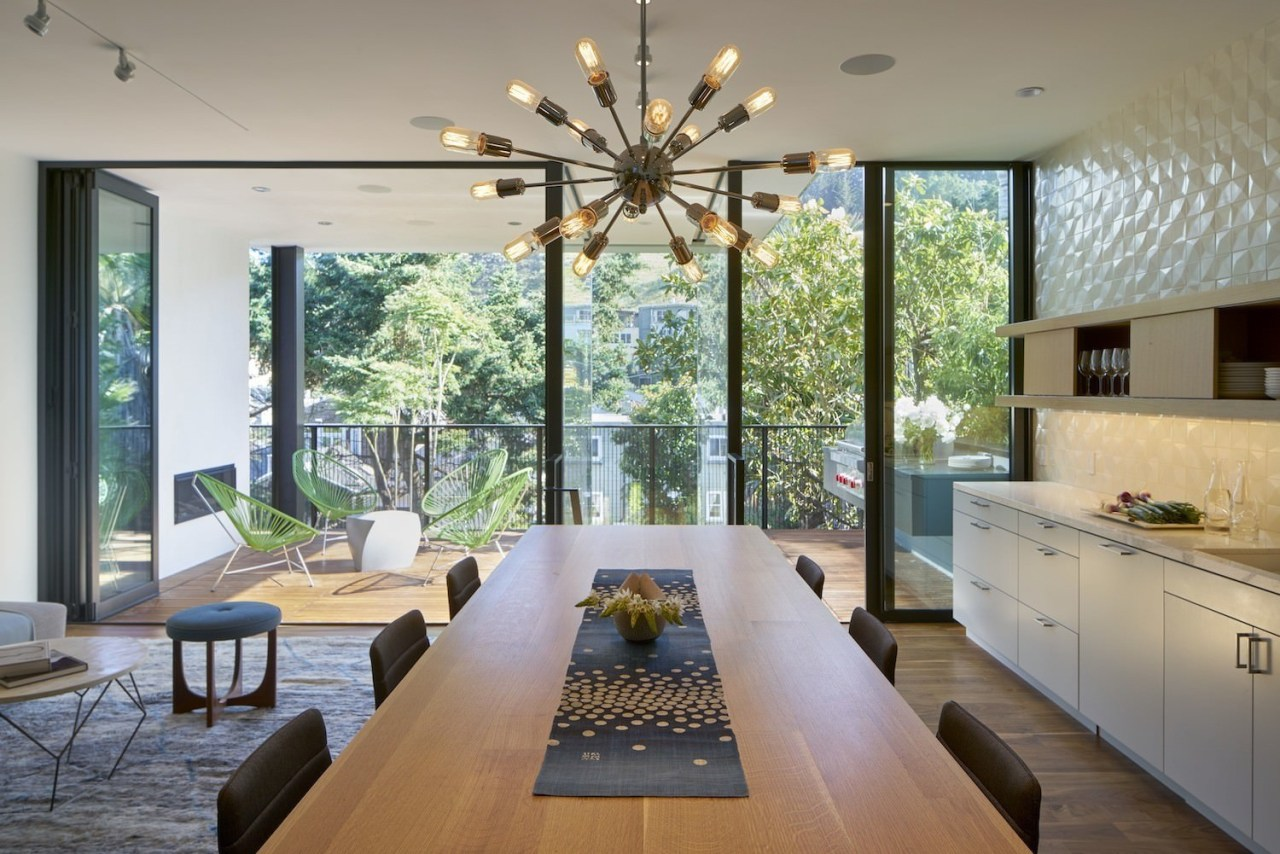 Architect: Schwartz and Architecture: SaAPhotography by Bruce architecture, ceiling, dining room, house, interior design, living room, real estate, window, gray