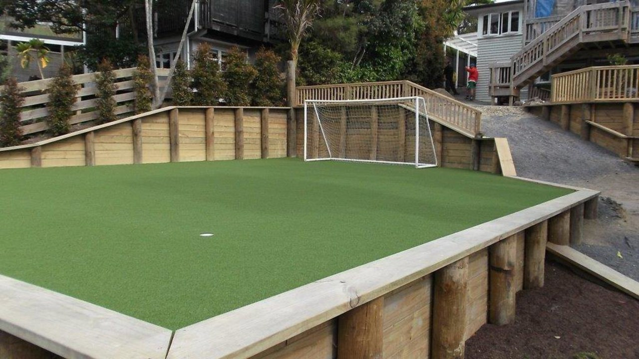 TigerTurf – perfect for family activities artificial turf, backyard, games, grass, lawn, leisure, outdoor structure, plant, sport venue, structure, yard, green, black