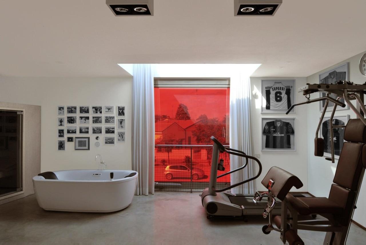 Architect: Tisselli Studio ceiling, floor, interior design, living room, real estate, room, structure, gray