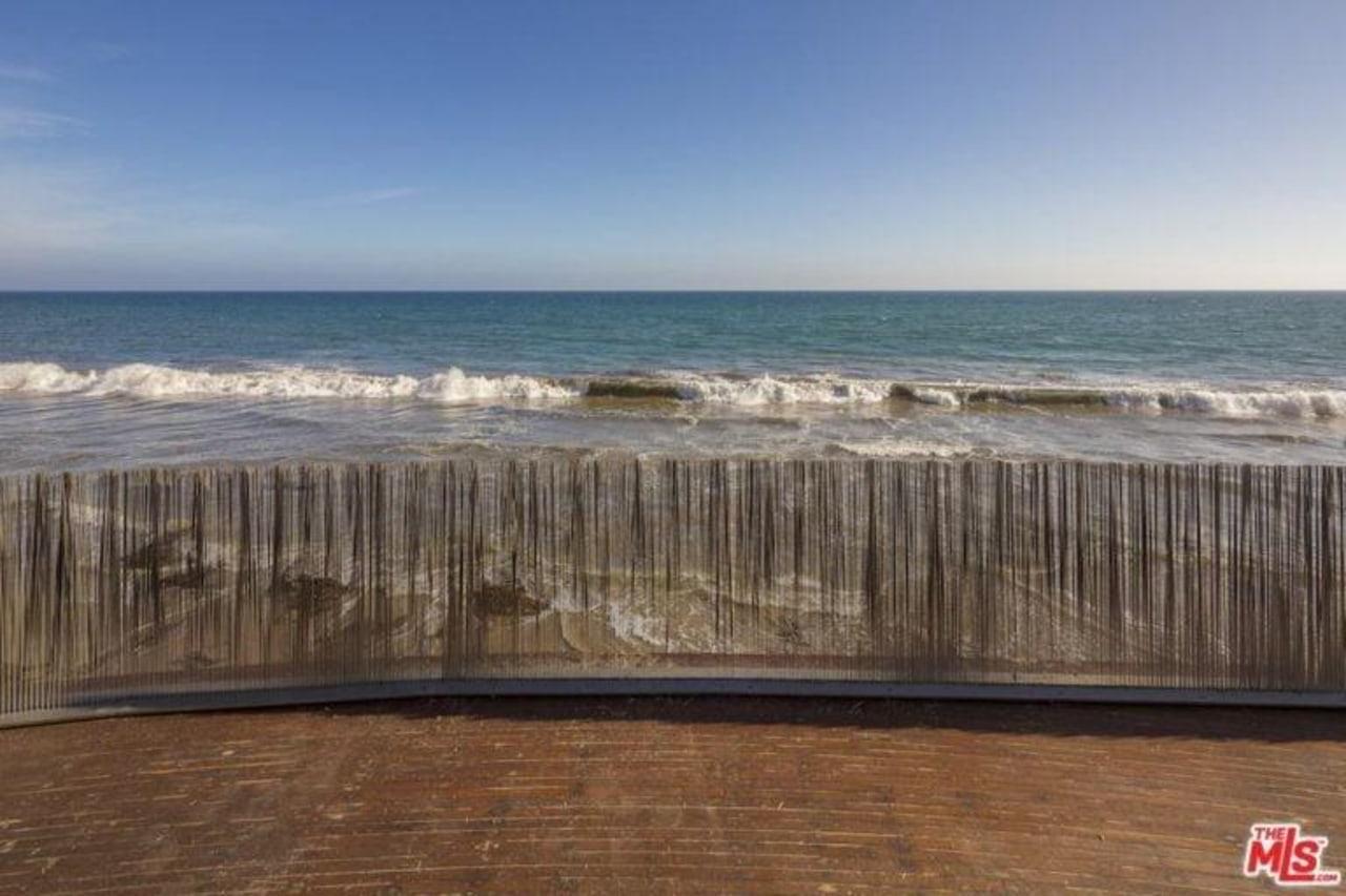 Edward Norton's new Malibu Colony home – Trulia beach, coast, coastal and oceanic landforms, horizon, ocean, sea, shore, sky, teal, brown, gray