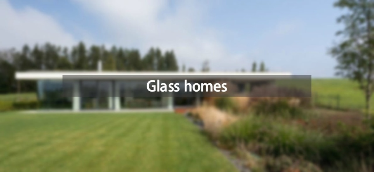 Consider glass when you plan your next renovation farm, grass, home, house, land lot, lawn, property, real estate, brown, white