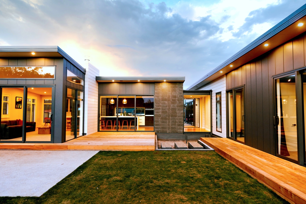 Choose your outdoor surface – generous timber decks,