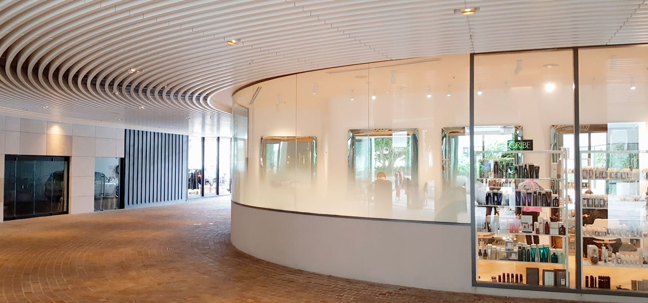 Koda 2 - architecture | building | ceiling architecture, building, ceiling, floor, glass, interior design, lobby, room, gray