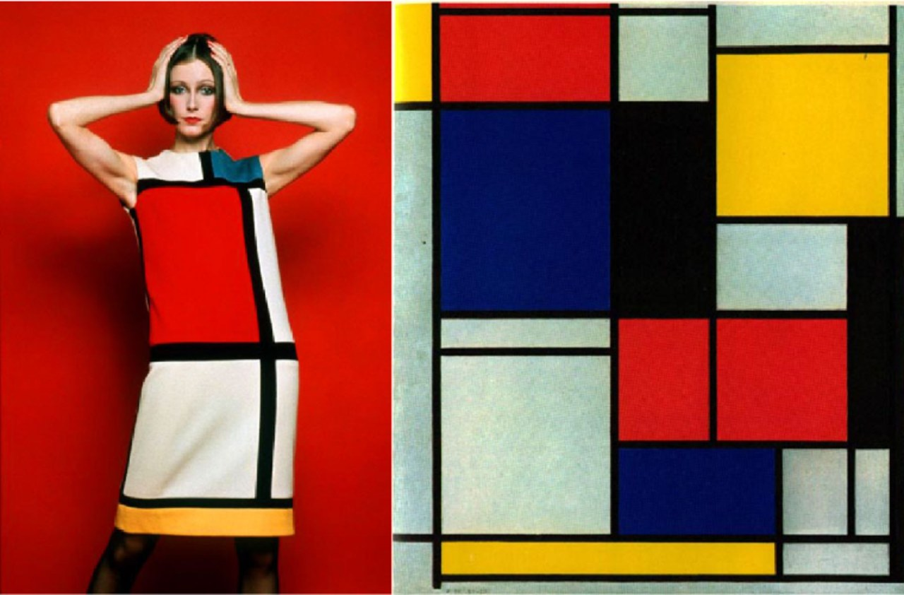 Colour blocking is usually credited to French artist art, modern art, visual arts, yellow, red