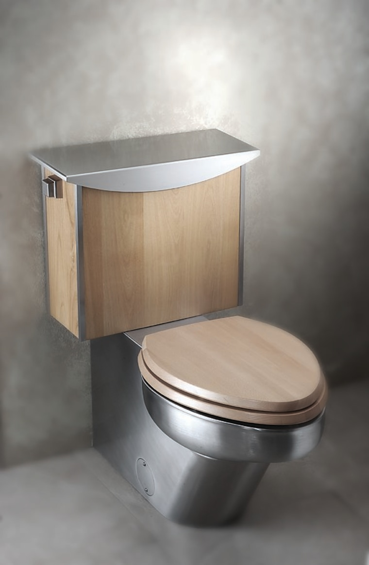 Close-up of this toilet plumbing fixture, product design, gray