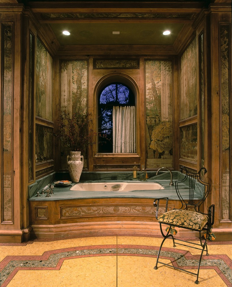 View of the bathtub ceiling, door, estate, furniture, interior design, lobby, room, wall, window, brown