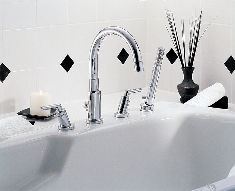 Interesting desing in this faucet set bathroom, plumbing fixture, product, product design, sink, tap, white