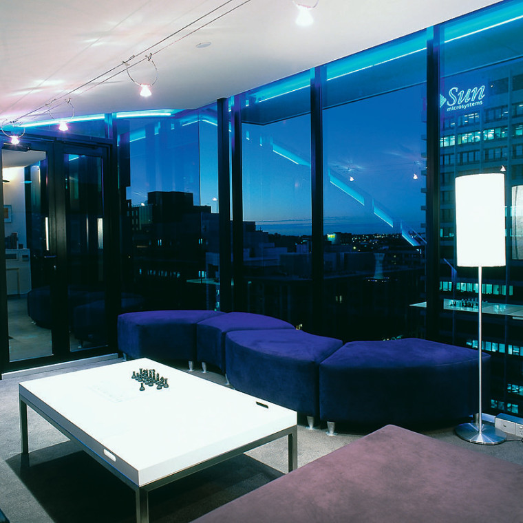View of the games room architecture, ceiling, glass, interior design, lighting, black