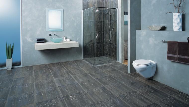 The view of a bathroom bathroom, floor, flooring, interior design, laminate flooring, room, tile, wall, wood flooring, gray
