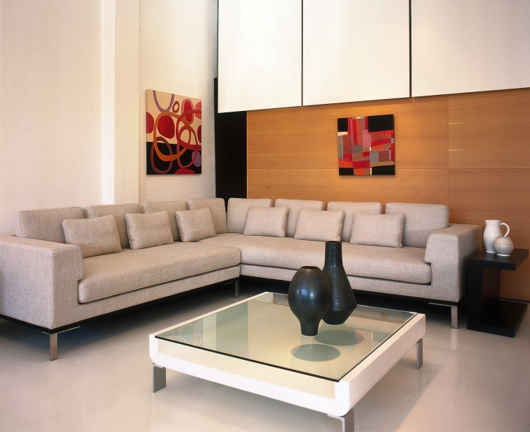 View of the lounge furniture angle, coffee table, couch, floor, flooring, furniture, interior design, living room, product design, room, sofa bed, table, wall, white