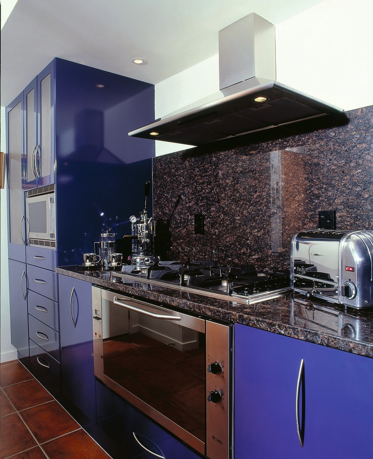 View of the kitchen area cabinetry, countertop, interior design, kitchen, kitchen stove, room, black