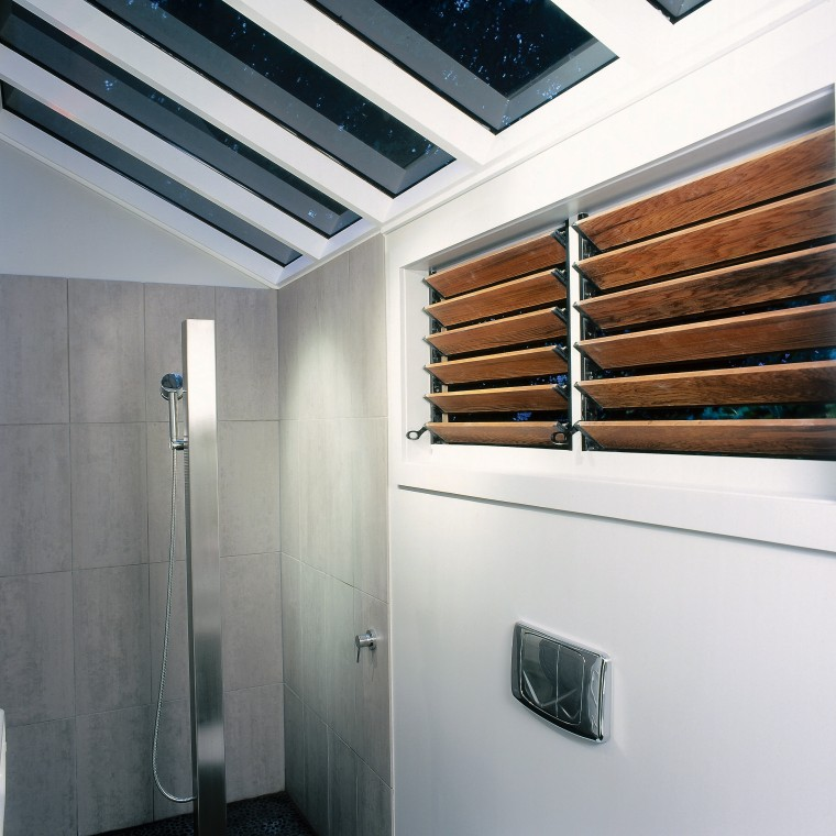 The view of the wet area of a architecture, ceiling, daylighting, interior design, real estate, gray