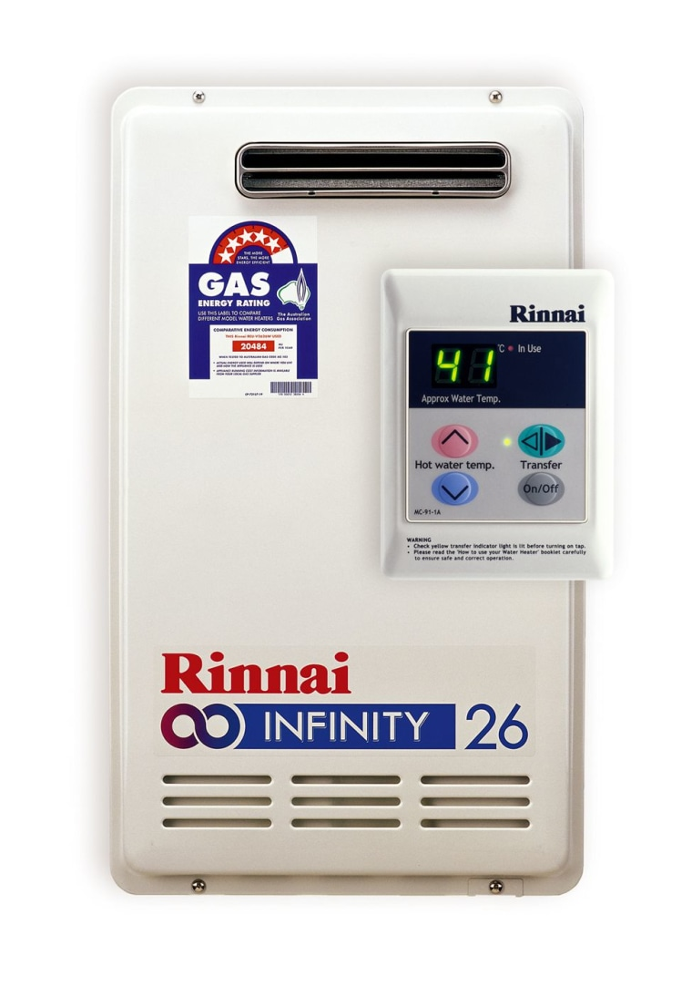 view of the Rinnai System electronics accessory, hardware, product, product design, technology, white
