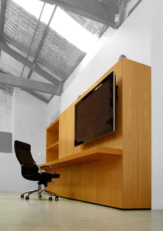 View of desk angle, architecture, desk, furniture, house, interior design, product design, gray, white, brown