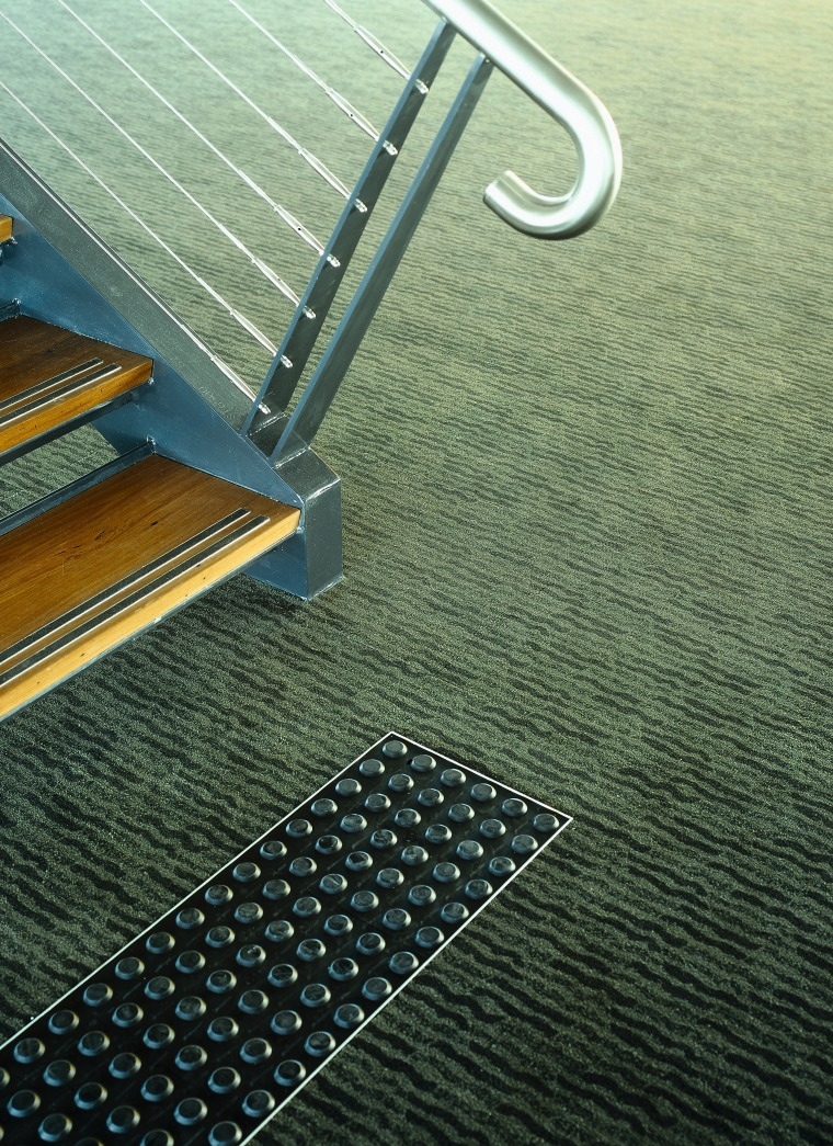 view of the carpets by onterra floor, line, mesh, metal, green, black