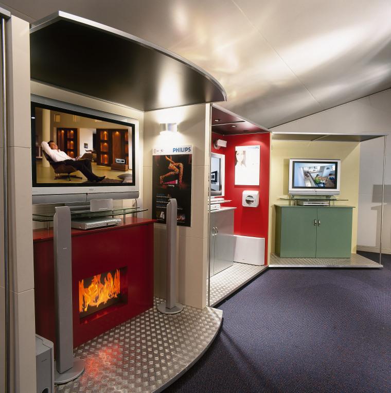 view of the phillips 42 inch plasma  interior design, gray