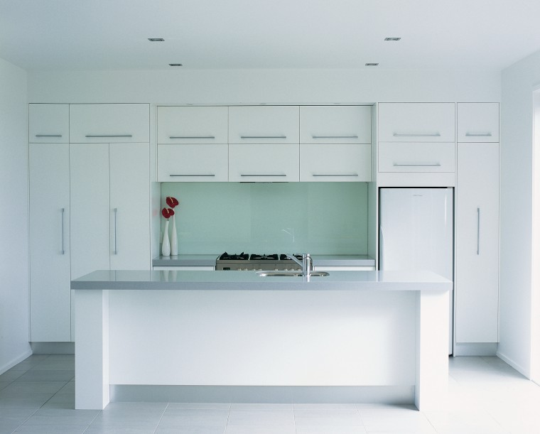 Examples of kitchens designed by Genesis, who also cabinetry, countertop, furniture, interior design, kitchen, product design, room, gray, white