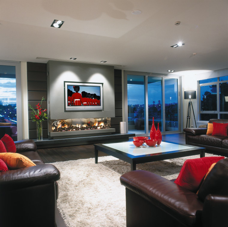 view of this living room featuring 50 inch ceiling, interior design, living room, room, gray, black