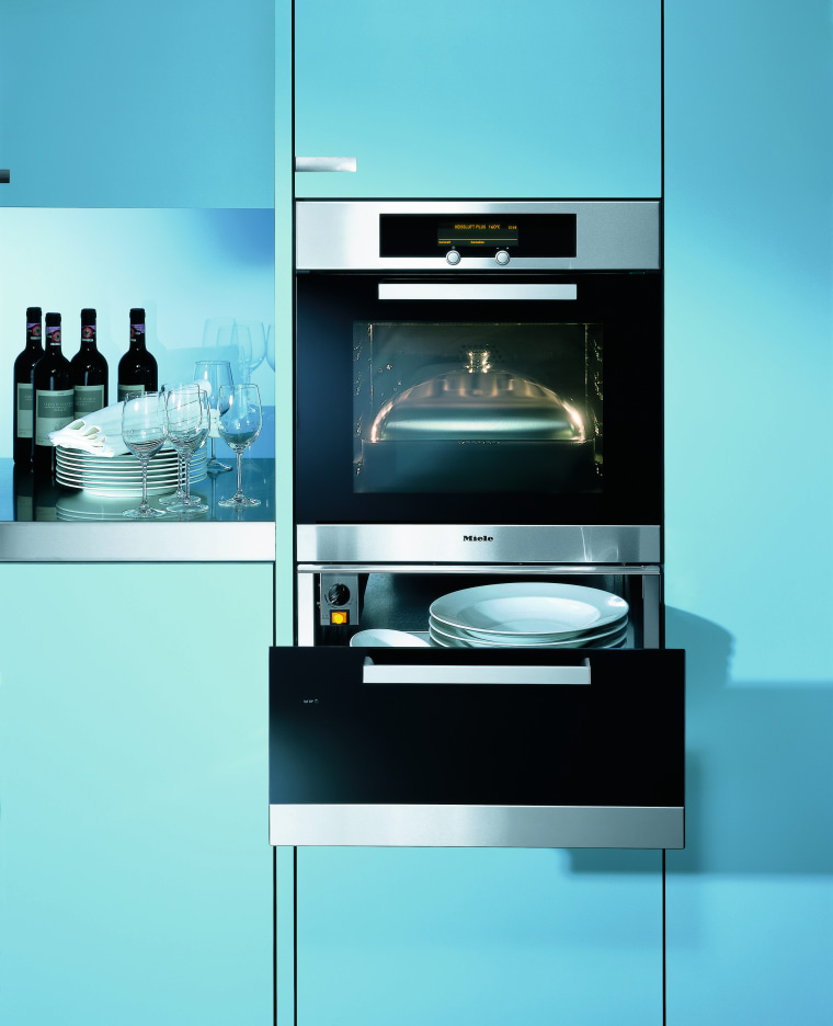 Close up view of the multi function ovens furniture, home appliance, kitchen appliance, product, product design, teal