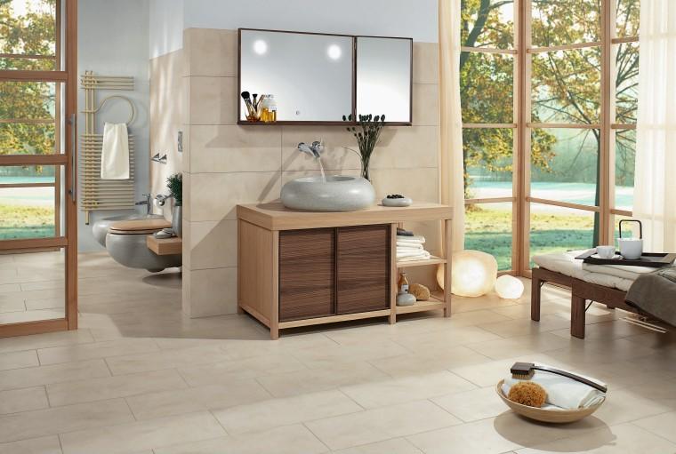 A view of a heated towel rail from bathroom, floor, flooring, furniture, hardwood, interior design, laminate flooring, tile, wood flooring, gray