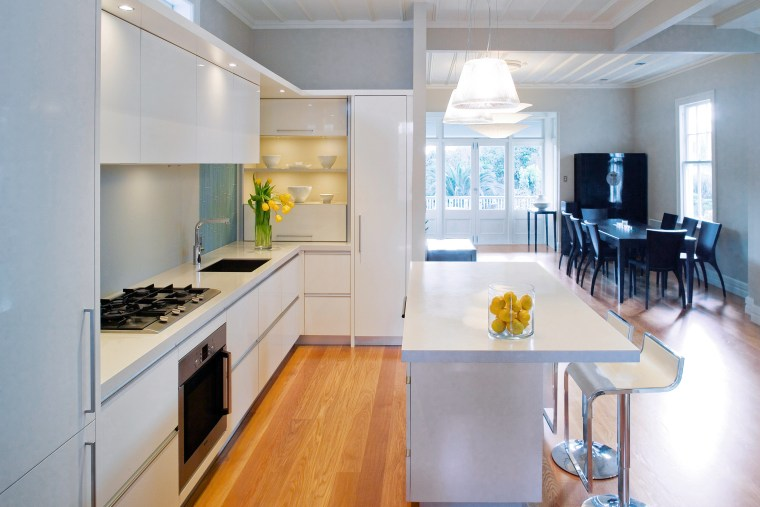 A view of the this kitchen designed by countertop, interior design, kitchen, real estate, room, gray