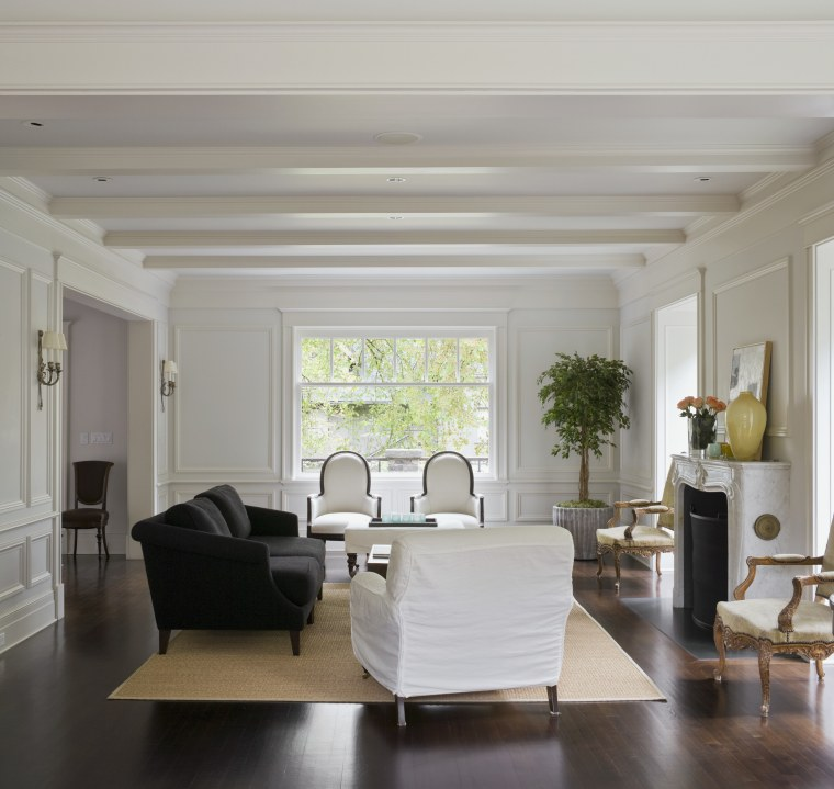 Image of a living area which features living ceiling, floor, flooring, furniture, interior design, living room, room, window, gray