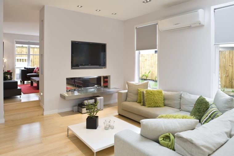 View of the living area in this house floor, home, interior design, living room, property, real estate, room, gray