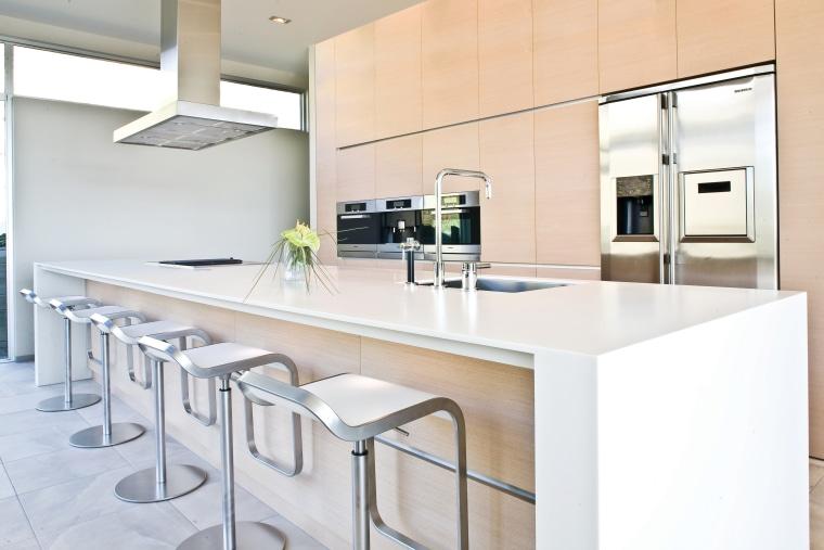View of a kitchen designed by NKBA designer countertop, interior design, kitchen, product design, real estate, white