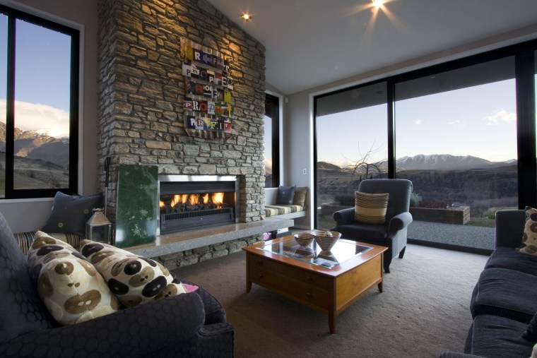 Classic or modern; gas or wood-burning; indoors or home, interior design, living room, property, real estate, room, black