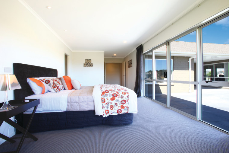PLG Egmont Bedroom 2 HR architecture, bedroom, ceiling, home, interior design, property, real estate, room, suite, white
