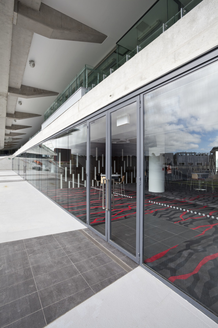 View of fire-rated glazing at the newly upgraded architecture, building, facade, glass, metropolitan area, structure, window, gray