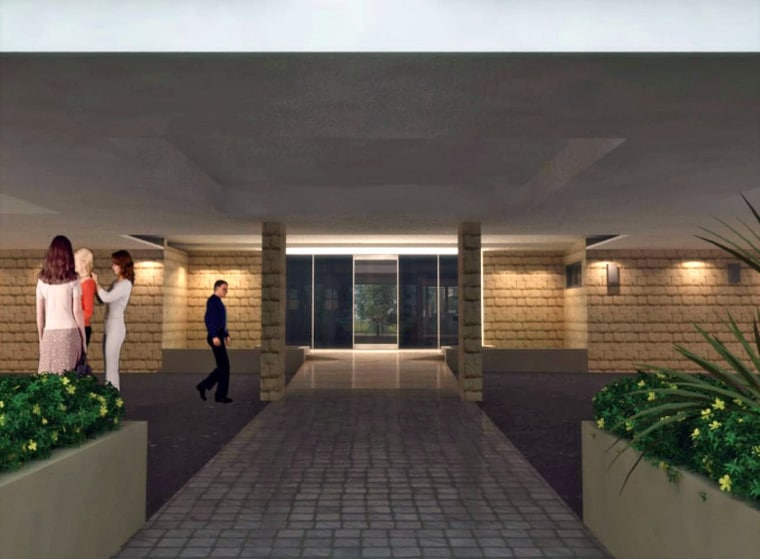 Entry with paved path and planter boxes. condominium, estate, home, house, interior design, property, real estate, black