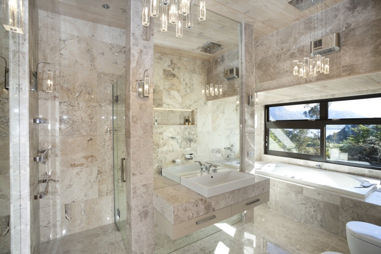 If you're selling, keep it neutral – architecture, bathroom, estate, home, interior design, property, real estate, room, gray
