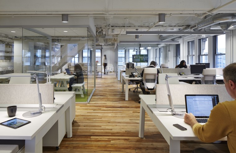 Contemporary Loft Style Office Interior In Art Trends