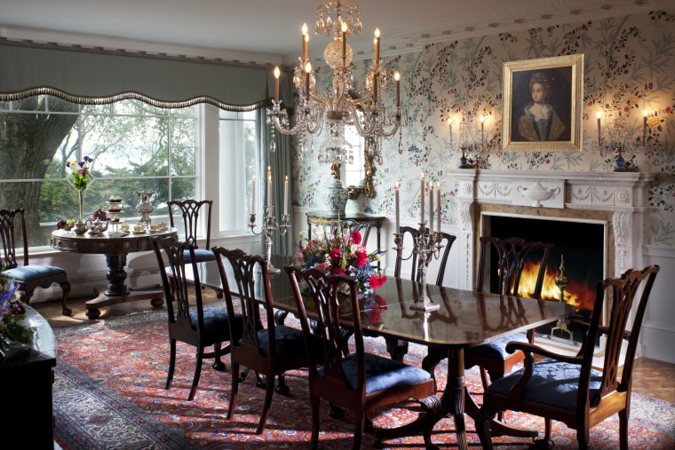 The renovated formal dining room has new dining room, furniture, home, interior design, living room, room, table, black, gray